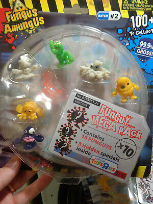 Fungus Amungus Toys R Us Retired figures new in pack Batch #2 (6) total packs !