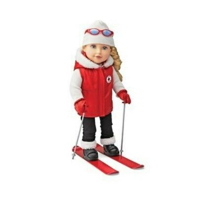 NEW: Newberry Ski Girl 'Madison' 18 inch Fashion Doll (Affordable fashion doll)