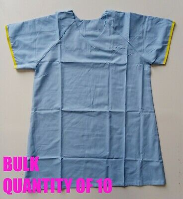 Pack of 10 Scrubs Top Size: Large (See Description for Sizing) Healthcare