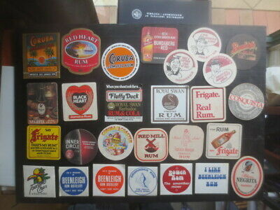 9 different JIM BEAM Distillery Australian  Issue collectable COASTERS