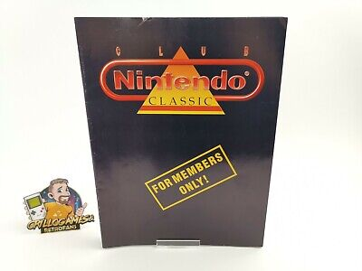 "Club Nintendo Zeitschrift "" Club Nintendo Classic For Members Only "" Magazin"