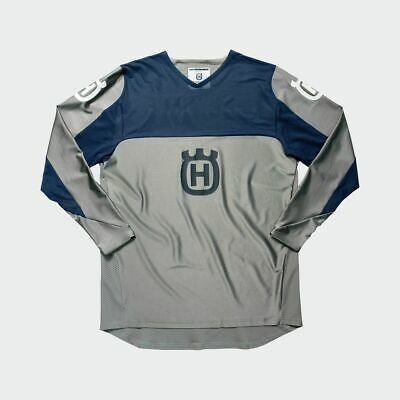Husqvarna - RAILED JERSEY GREY