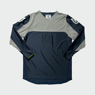 Husqvarna Shirt - RAILED JERSEY Blue