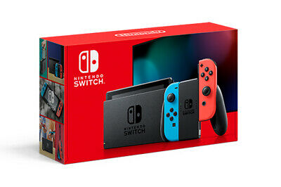 Nintendo Switch 32gb Neon 2019 improved battery IN HAND FOR IMMEDIATE DELIVERY