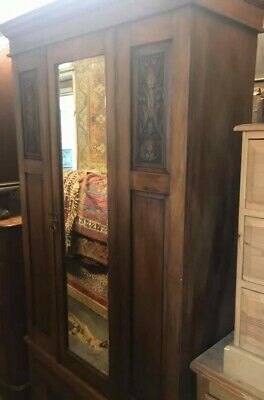 Edwardian wardrobe, original great condition