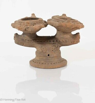 Pre Columbian Pottery Double Burner from Madden Lake, Panama w/ Provenance!