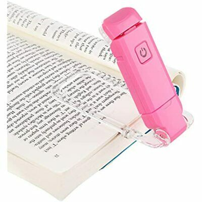 DEWENWILS USB Rechargeable Book Reading Light, Warm White, Brightness LED Clip
