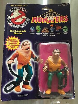 c. 1986 VINTAGE NOS the Real Ghostbusters Quasimodo Monster MOC Kenner