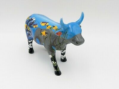 Cow Parade Westland #7342 The Elusive Sea Cow With Box And Original Tag Retired