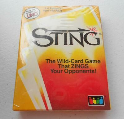 Sting Wild Card Game by Makers of UNO Zings Your Opponents New Sealed Box