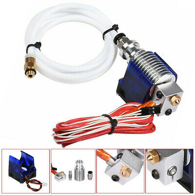 3D Printer V6 J-head Hotend 1.75mm Filament Bowden Extruder Nozzle 0.4mm Tool UK