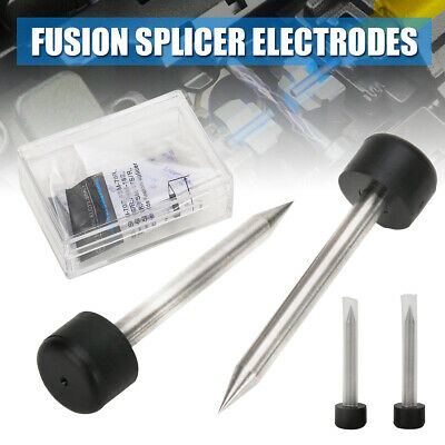 1 Pair Fiber Fusion Splicer Electrodes Optical Fit Fujikura FSM-50S 60S 70S 80S