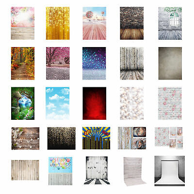 3x5ft Vinyl Butterfly Flower Photography Backdrops Background Photos Studio Prop