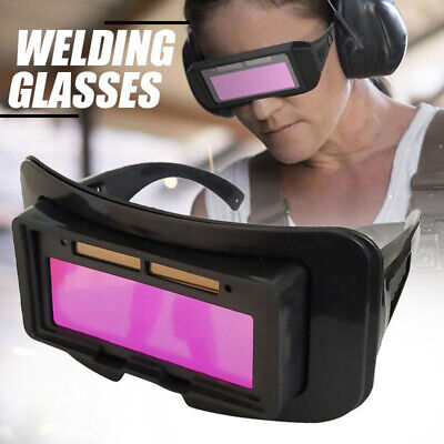 Pro Solar Auto Darkening Welding Mask Helmet Eyes Goggle Welder Glasses ArcUULK