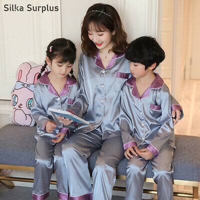 2020 Bingsi Parent-child Pajamas Suit Long-sleeved Pajamas (lady) Spring Top