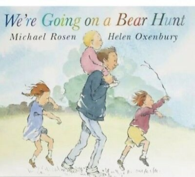 We're going on a bear hunt By Michael Rosen NEW (Paperback) Childrens Book