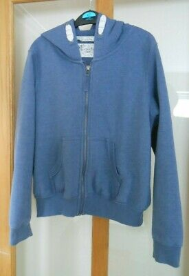 NEXT - Girls Blue Zipped Hoody - Size 13 Years