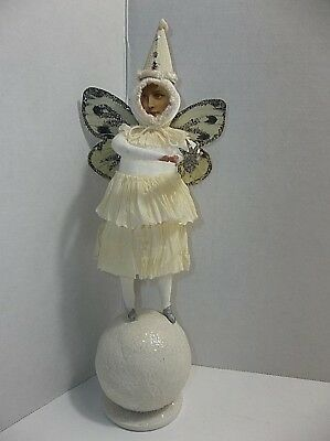 Cody Foster SNOW FAIRY Butterfly Christmas PUTZ
