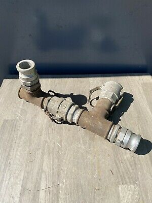 """2"""" Ever-Tite Cam Lock Pipe Connections Male And Female Plus Bsp Pipe Fitting"""