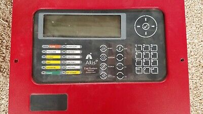 Axis AX Logo Remote Annunciators Fire System Advanced Network Panel