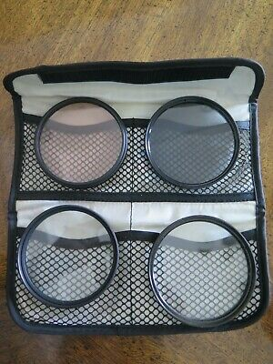 Tiffen Filter Rings With Case 3-72Mm, 1-77Mm