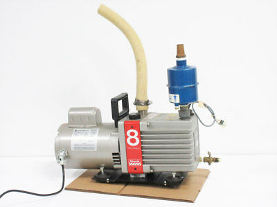 Edwards E2M8 Dual Stage Vacuum Pump With Balston Filter 18/18-371H Filter