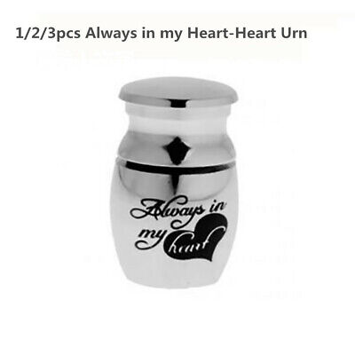 1/2/3x Mini Urn for Ashes Cremation Memorial Small Keepsake Ash Container Jar UK