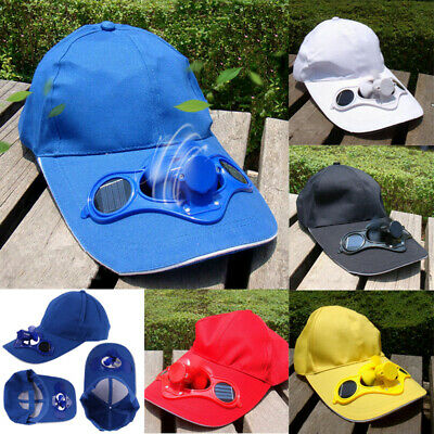 Solar Cap with Cooling Fan Sports Outdoor Golf Mountain Climbing Baseball Hat