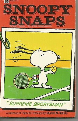 Lot of 2 Peanut paperbacks feauruing Snoopy by Charles M. Schulz (Budget Books)