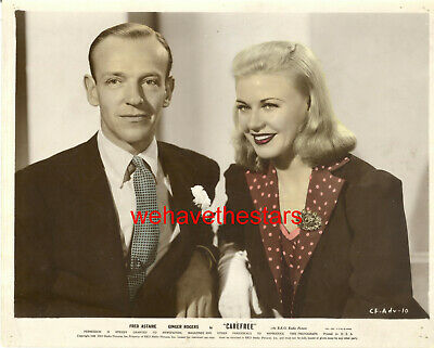 Ginger Rogers Fred Astaire Vintage Original Photo 38 Carefree Rare Dancing 59 99 Picclick