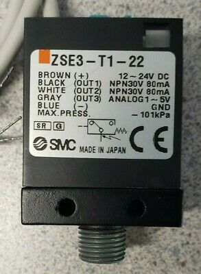 *New* Smc, Zse3-T1-22, Vacuum Switch