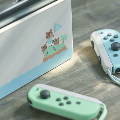Nintendo Switch Animal Crossing joy-Con (L) / (R) and straps &dock