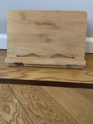 Readaeer Bamboo Book Stand
