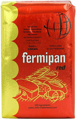 FERMIPAN INSTANT DRIED YEAST 50g Home Baking Bread Maker Pizza Dough Vegan