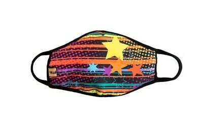 MADE IN THE USA Triple Layer Reusable Face Masks - Adult Awesome Patterns