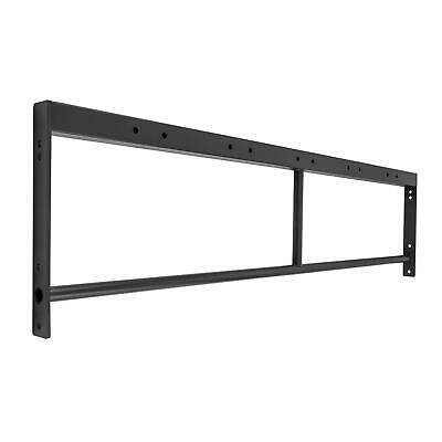 Doble Barra soporte Ampliacion Rack base Multiestacion 168 cm gimnasio Agarre