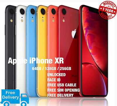 Apple iPhone XR  64GB /128GB / 256GB  UNLOCKED  ALL COLOURS