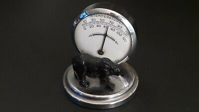 Vintage Black Bear Thermometer Dukay-New Haven, Conn Made in U.S.A. Works Great!