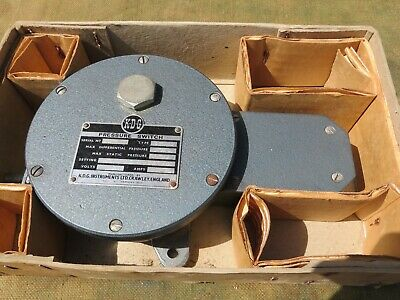 Kdg Sp-02 Pressure Switch Boxed Made By Kdg Instruments Crawley