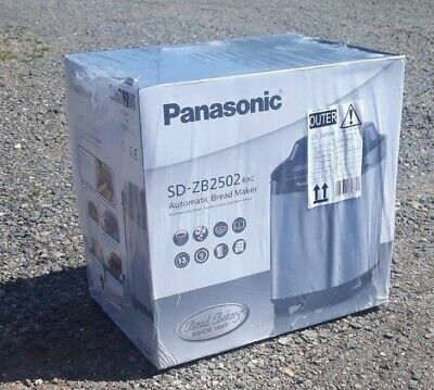 Brand New Panasonic SD-ZB2502BXC Stainless Steel Automatic Bread Maker