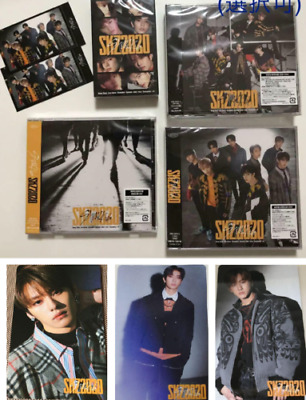STRAY KIDS SKZ2020 3 type CD + Cassette tape + photocard photo card set UNSEALED