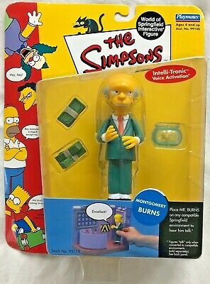 The Simpsons 3.5 inch Figure Montgomery Burns Perfect for 1:18 Model Cars
