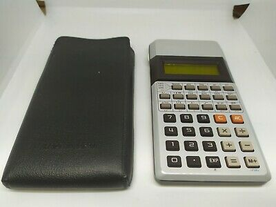 VERY RARE 1977 Vintage CASIO fx-1000 Yellow LCD Scientific Calculator