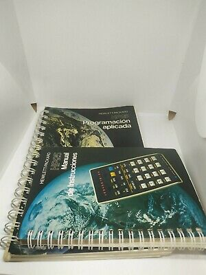 Hewlett-Packard HP 25 Vintage Calculator manual