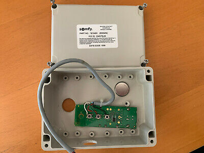 Used Somfy DRY CONTACT-RTS INTERFACE 1 CHANNEL (# 1810493) for Somfy Systems