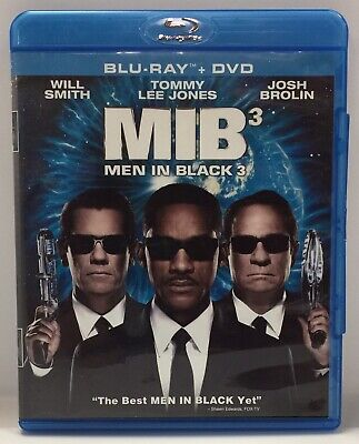 Men in Black 3 (Blu-ray/DVD, 2012)