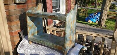 Original Robin Blue 2 Tier Shelf, Hang Or Place On Table