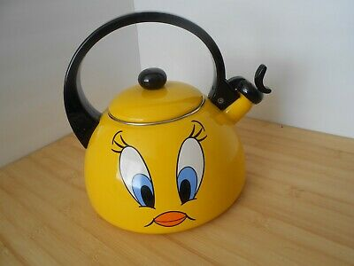 Tweety Bird Tea Kettle 2000 Warner Bross