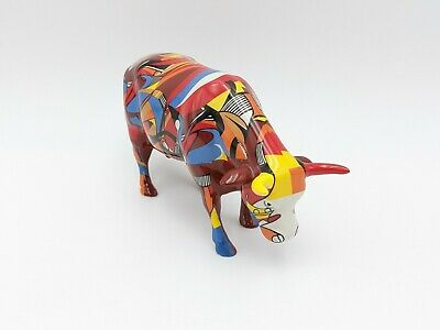 Cow Parade Westland 7303 Psycowdelicowwow With Box And Original Tag 2002 Retired