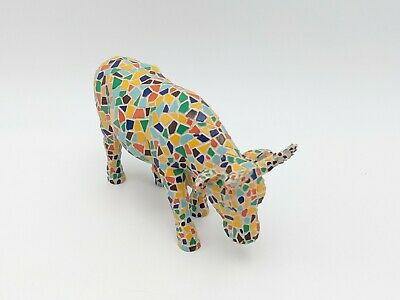 Cow Parade Westland #9143 Moozaic With Original Box 2002 Retired Rare